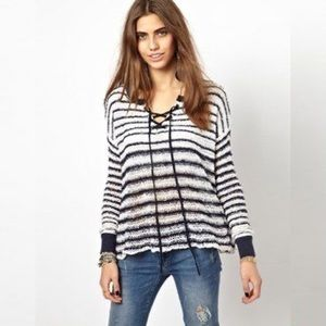 Free people Judy is a punk sweater